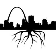 skyline with root